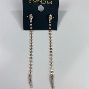 Bebe Gold Snake Earrings NWT $24